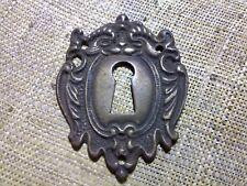 ornate cast brass escutcheon, antique or vintage (DI2)
