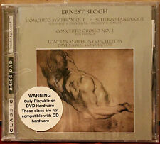 CLASSIC RECORDS CD DAD-1030: Music by ERNEST BLOCH - David Amos, 1999 USA SEALED