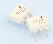 5PCS IC MOC3061 DIP-6 Zero-Cross Optoisolators Triac Drive NEW