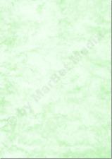 Marmorpapier A4 250g / m² 25 Blatt grün