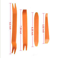 4 x In-Car Radio Door Body Clip Panel Trim Dash Audio Plastic Removal Tool Kit