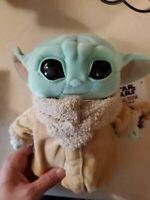 "Star Wars Mandalorian The Child 8"" Plush Baby Yoda Doll |  Mattel"
