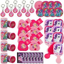 NEW My Little Pony 'Friendship is Magic' 48pc Favor Kit 1ct FREE SHIPPING