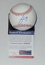 JULIO URIAS AUTO'D SIGNED MLB BASEBALL PSA/DNA ROOKIE GRAPH COA LA DODGERS