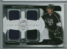 MIKE RICHARDS 2011-12 Upper Deck The Cup Quad Jersey 08/25