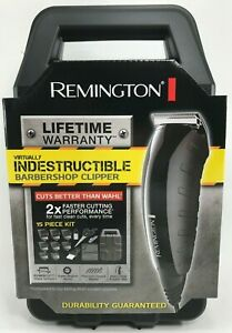 Remington - HC5850A - Virtually Indestructible 15 Piece Barbershop Kit