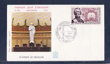 enveloppe 1er jour accadémie de médecine  Paris      1971