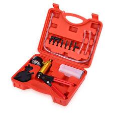 Brake Fluid Bleeder Oil Change Hand Held Vacuum Pistol Pump Tester Kit with Case
