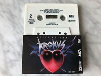 Krokus Heart Attack Cassette Tape 1988 MCA MCAC-42087 Winning Man RARE! OOP!