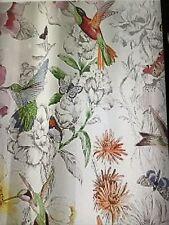 pottery barn hummingbird shower curtain #1365
