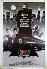 Love at First Bite 1979 Original Movie Poster 27x41 Folded US 1 Sheet