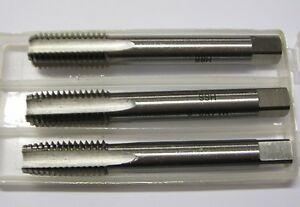 "3/8"" X 24 UNF TAP SET OF 3 INCLUDING PLUG TAPER SECOND TAPS"