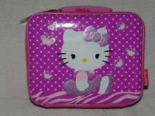 HELLO KITTY LUNCH BOX INSULATED NEW!