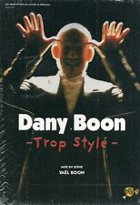 DVD ZONE 2 SPECTACLE--DANY BOON--TROP STYLE--NEUF
