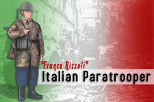 Dragon 1/6 Segunda Guerra Mundial italiano-Franco Rizzoli-Paracaidista