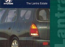 Hyundai Lantra Estate 1996-97 UK Market Foldout Sales Brochure 1.6 GLSi 1.8 CD