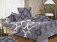 SONEY Duvet/Doona/Quilt Cover Set Double/Queen/King/Super King Size Bed New