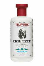 New Thayers Unscented Witch Hazel Alcohol Free Toner with Aloe Vera 12ft oz