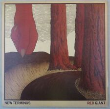"""New Terminus """"Red Giant"""" Red Colored Vinyl, NT-003LP, M- Cover & LP, 2012"""