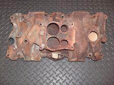 1976-82 Chevy Nova SBC OEM Cast Iron 4 Barrel Quadrajet Intake Manifold 346250