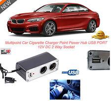 new 3 Way Power USB In Car Cigarette Lighter Socket Splitter Charger Power 12V