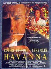 Havanna - Robert Redford - Lena Olin - A1 Filmposter Plakat (x-880