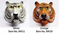 Boy Scout White Tiger (Orange/White) Woggle / Neckerchief Slide