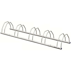5 BIKE FLOOR/WALL MOUNTED CYCLE RACK STAND FOR BIKES/BICYCLE SHED GARAGE STORAGE
