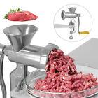 Meat Grinder Mincer Stuffer Hand Manual Sausage Filler Maker Machine Kitchen photo