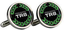 Triumph TR8 Wreath Blk B/G Logo Cufflinks and Gift Box