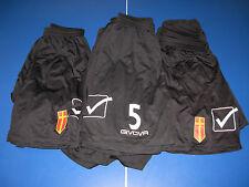 no maglia 10 short calcio messina givova size M-L-XL nuovi neri