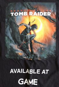 Clothing - Shadow of The Tomb Raider - Game Promotional T-Shirt XL - Preowned