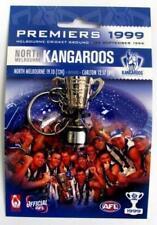 33824 NORTH MELBOURNE KANGAROOS 1999 AFL PREMIERS 3D TROPHY KEYRING KEY RING