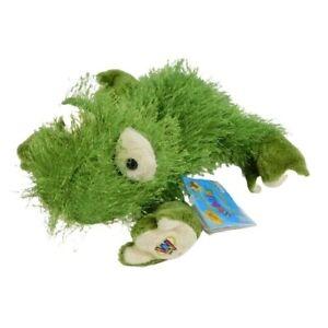 "Ganz Webkinz Frog 6"" Plush Green Stuffed Animal Toy HM001 Sealed Code"