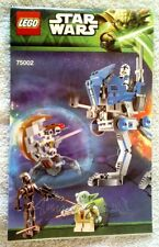 !! Lego Star Wars 75002 AT-RT Walker Instructions !!