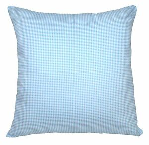 Ra013a Baby Blue Soft Cotton Fabric Cushion Cover/Pillow Case*Custom Size