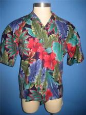 Vtg Hilo Hattie Magnum PI Cotton Hawaiian Camp Shirt L Mint