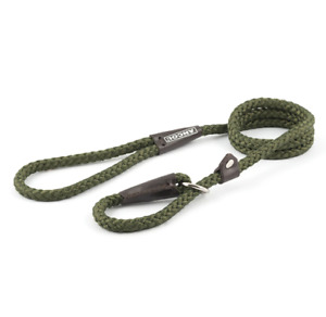 Ancol Heritage Rope Slip Lead for Dogs