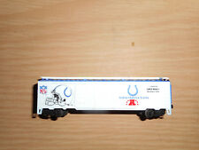 VINTAGE MANTUA N SCALE INDIANAPOLIS COLTS  SUPER BOWL EXPRESS WINNER NFL train