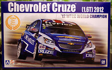2012 Chevrolet Cruze WTCC World Champion, 1:24, Aoshima Beemax 082997 # 05