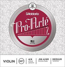 D'addario Pro Arte 4/4 Violin String Set Corde Violon