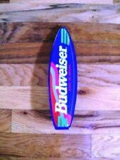 Budweiser Acrylic Surfboard Tap Handle