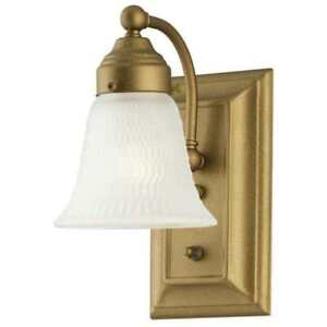 Westinghouse Interior Light Fixture Goldenrod w/ Frosted Glass Sconce 66492