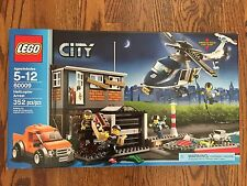 LEGO City Police Helicopter Arrest 60009 SET NEW in Box Sealed Boat Dock Retired