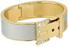 GUESS Womens Gold Silver Rhinestone Chunky Fashion Bangle Bracelet NEW WITH TAGS