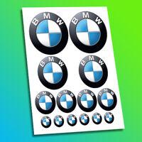 BMW Motorcycle Bike Car Helmet Boot Bonnet Emblem Logos Racing Decal Stickers