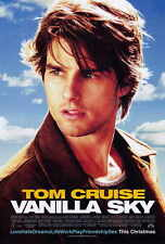 Vanilla Sky Movie Poster Print 27x40 Tom Cruise Penelope Cruz Cameron Diaz