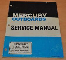 Mercury Outboards RC DM TM Modelle Außenbordmotor Werkstatthandbuch Service Manu