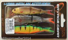 Savage Gear Soft 9,5cm 4Play Lip Scull Kit 3+1 Roach/ Rudd/ Firetiger lures