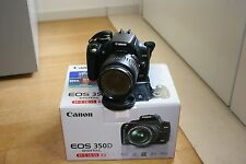 Fotocamera Canon EOS 350D reflex digitale + obiettivo 18-55  + SCATOLA + CF